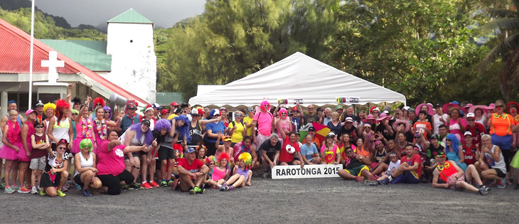 Fun Run - as part of the Round Rarotonga Road Race