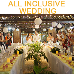 ALL INCLUSIVE WEDDING SPECIAL FROM 6299