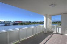 Spacious balcony at Emporio Apartments, Sunshine Coast