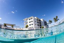 Swimming pool at Emporio Apartments Maroochydore