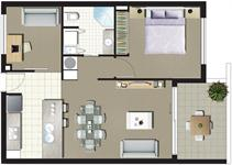 Stage One - 1 Bedroom + MPR