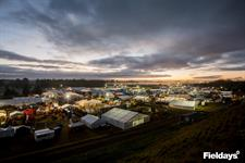 Sunrise over Fieldays 2016