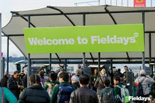 Getting through the gate at Fieldays 2016