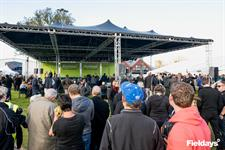 Before Fieldays Opening Ceremony on the Village Green