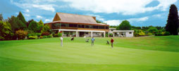 CLub house at Golf Te Puke