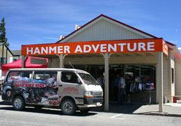 Hanmer Springs Adventure Centre, your first stop for outdoor adventure activities in Hanmer Springs.