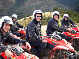 Your team can enjoy the thrills of quad biking or game hunting, or a leisurely trek through our amazing South Island scenery on horseback.
