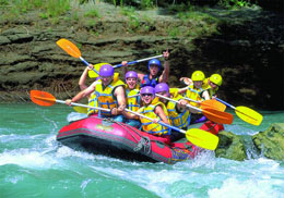 Experience the high-adrenaline thrills of whitewater rafting on one of the South Island's powerful shingle rivers!