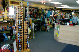 Our adventure store stocks ski equipment, fishing gear and everything you need for mountain biking, camping and more!
