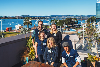 The Harbourside Team welcomes you!