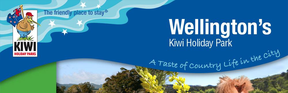 Harcourt Holiday Park, Upper Hutt, New Zealand