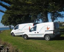 Gary's Service Van
