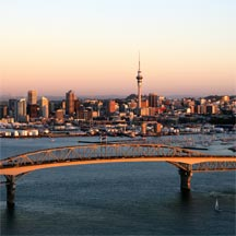 Auckland city centre and the impressive Sky City Casino
