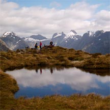New Zealand presents a huge variety of landscapes