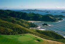 Waiaua Bay and Golf Green