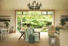 Owner's Cottage Interior to Garden