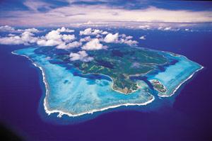 Island of Bora Bora (Philipe Bacchet)