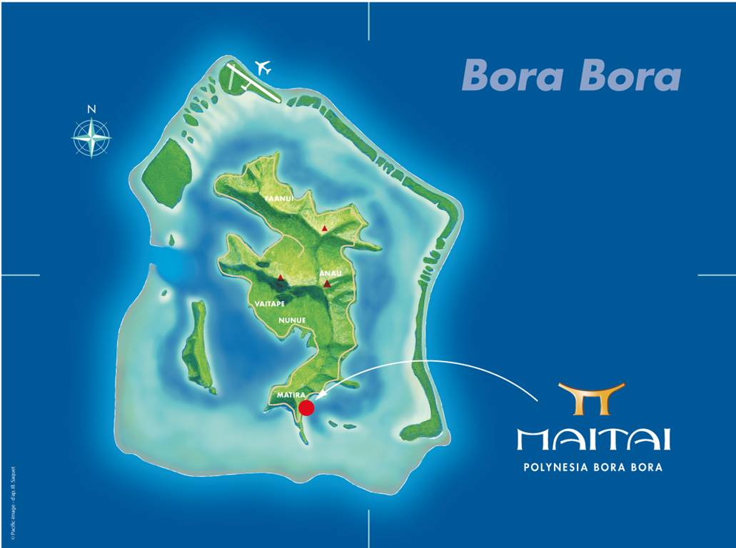 Our Bora Bora, French Polynesia Location | Maitai Bora Bora | French ...