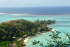 Beautiful Bora Bora is part of the Society Islands