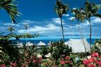 Ocean views from the Maitai Bora Bora bungalows