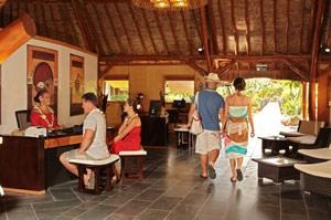 Reception Hotel Maitai Huahine