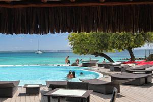 Pool Area Hotel Maitai Huahine