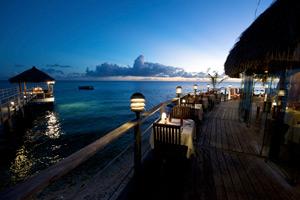 Restaurant Views Hotel Maitai Rangiroa