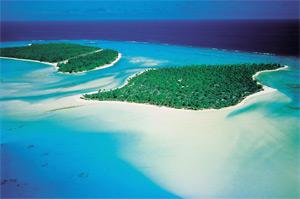 Island of Rangiroa (R. Sahuquet)