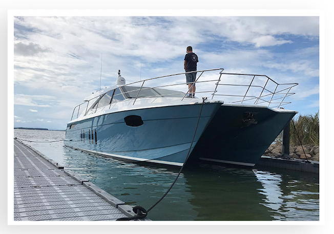 New-build, Full paint job, Catamaran,