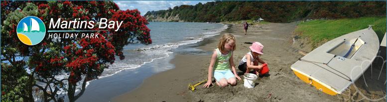Martins Bay Holiday Park, Camping & Beach Accommodation