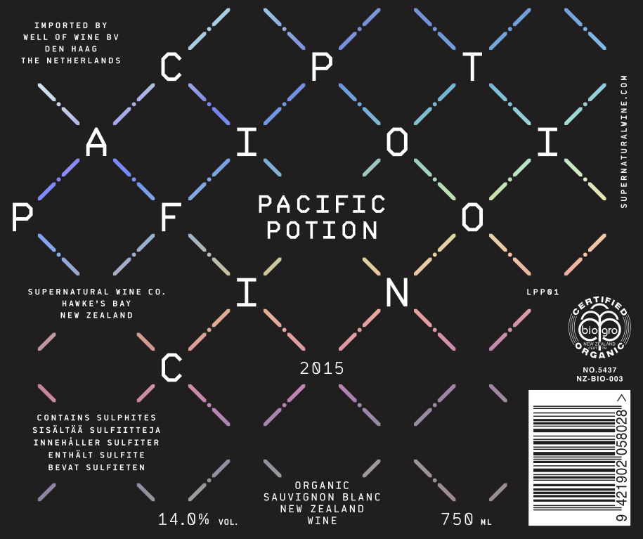Pacific Potion, New Zealand Wines, Hawkes Bay Vineyards on