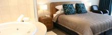 Executive Studio, The Nautilus Napier, self contained apartment accommodation, New Zealand