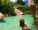 Taking a dip in the Lost Spring