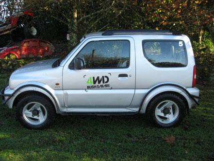 4WD Suzuki Jimny Side