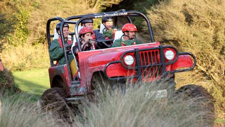 Off Road NZ Twilight Activities Monster 4x4