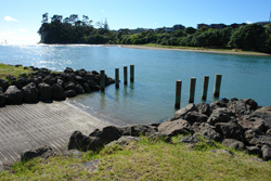 There is a boat ramp onsite for a range of water activities