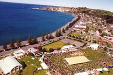 Seafest aerial photo
