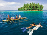 Snorkelling in Papua New Guinea