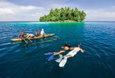 Papua New Guinea Tours - snorkelling