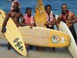 Sufing in Papua New Guinea