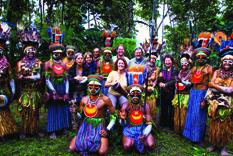 Visit vibrant Papua New Guinea