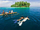 Snorkelling in New Guinea