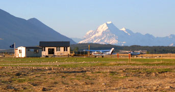 Terminal Building - Air Safaris, Mt Cook
