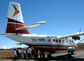 Air Safaris loading passengers for another great adventure
