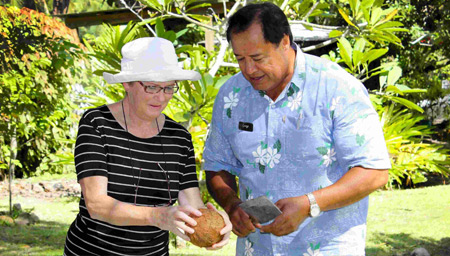 Learn how coconuts are used in the Cook Islands
