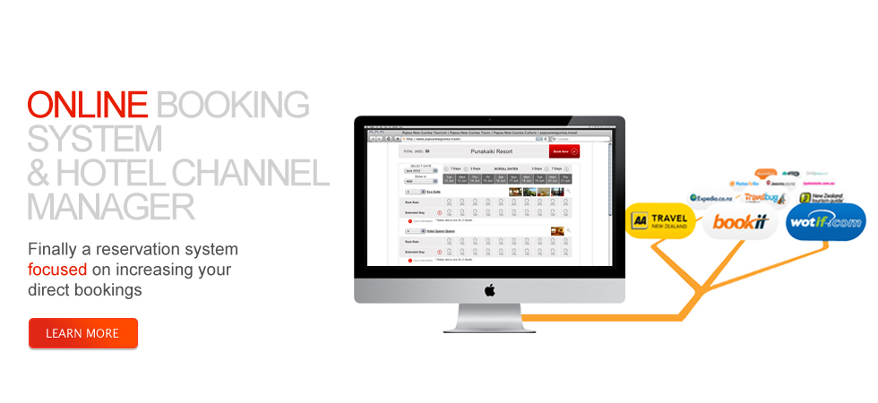 Online booking system and hotel channel manager