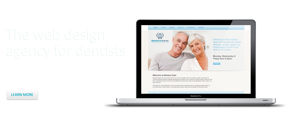 The web design agency for dentists