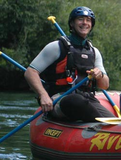 Rafting Adventure Specialist Justin Hutton