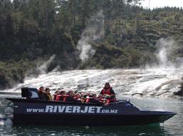 NZ riverjet jet boat
