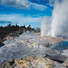 Rotorua Geothermal Tours with NZ Shore Excursions